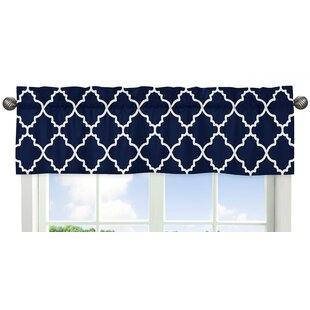 blue window valance turquoise quickview blue valances kitchen curtains youll love wayfair