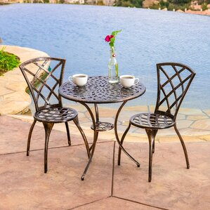 Round Patio round patio dining sets - patio dining furniture | wayfair