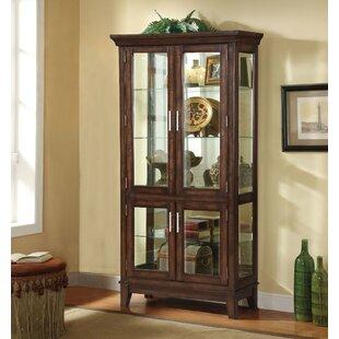 Komarek Wooden Curio Cabinet