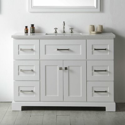 48 inch bathroom vanities you 39 ll love wayfair - Wayfair furniture bathroom vanities ...