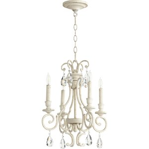 Ansley 4-Light Candle-Style Chandelier