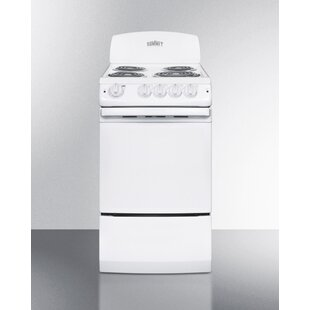 electric range 20 inch summit 20 20 electric ranges youll love wayfair