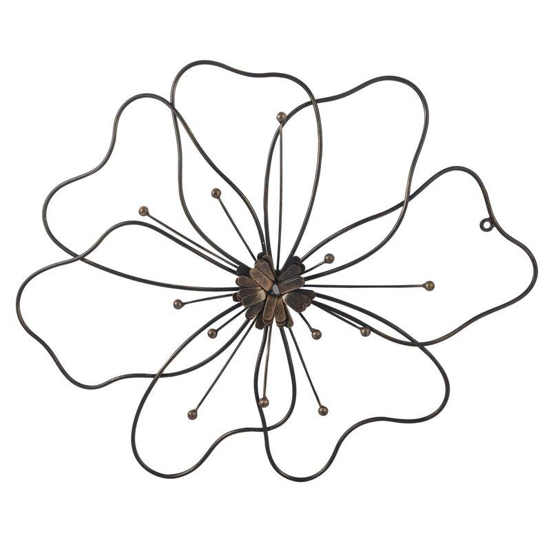 August Grove Poppy Flower Wall Dcor Wayfair