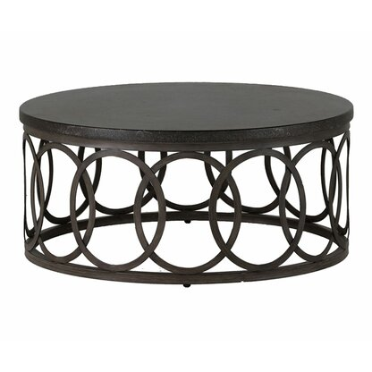 Outdoor Coffee Tables Perigold - Black aluminum outdoor coffee table