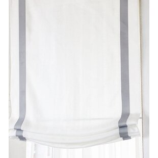 white roman blinds soft quickview roman shades youll love wayfair