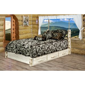 Abordale Storage Platform Bed by Loon Peak