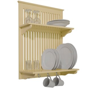 Kitchen Storage Wall Mounted Pot Rack  sc 1 st  Wayfair : plate rack - pezcame.com