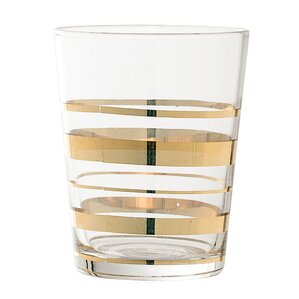Glass Striped Tumbler (Set of 6)
