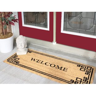 Exceptionnel Nanette Welcome Greek Large Coir Double Doormat