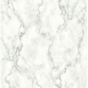 Metson Faux Marble 216 L X 20 5 W And Stick Wallpaper Roll