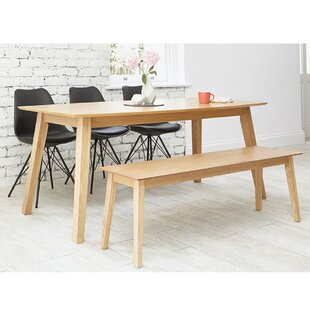 Driftwood Dining Set With 3 Chairs And 1 Bench