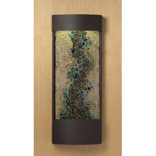 Blue Accent Panel Enchanted Creek Water Feature