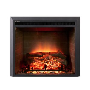 LED Wall Mount Electric Fireplace Insert by Dynasty Fireplaces