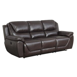 High Back Leather Sofas You\'ll Love | Wayfair