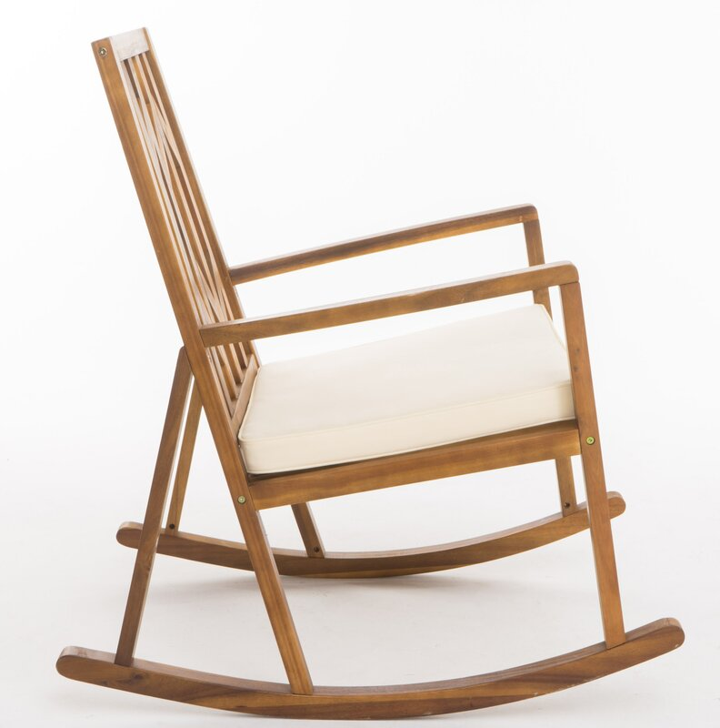 Brayden Studio Hillside Avenue Rocking Chair Amp Reviews