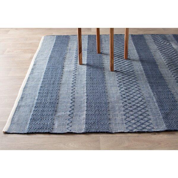 fab habitat estate handwoven blue area rug u0026 reviews wayfair