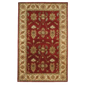 Charisma Parson Red / Ivory Area Rug