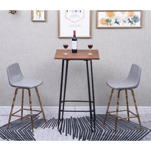Winegar 26 Swivel Bar Stool (Set of 2)
