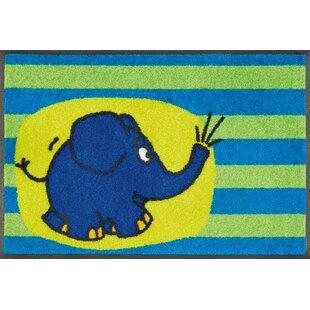 Piers the Elephant Doormat by Longweave