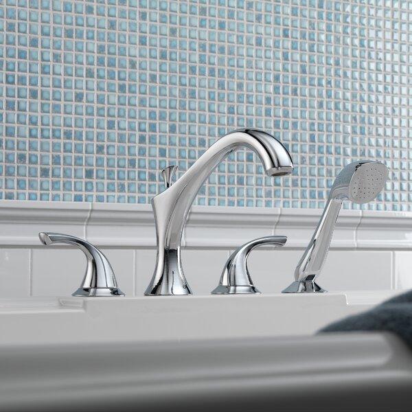 Delta Addison Roman Diverter Tub Faucet Shower Faucet Trim with Hand ...