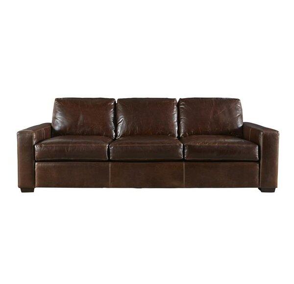 Genial Full Grain Leather Sofa | Wayfair