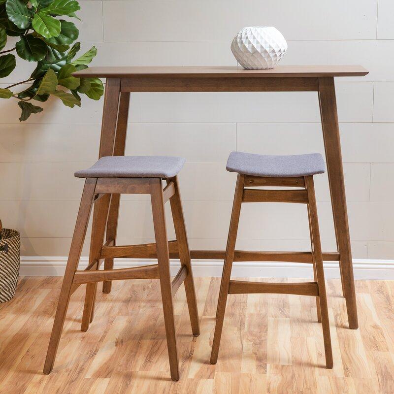 Pub TableAmish Log Rustic Pub Table Chairs
