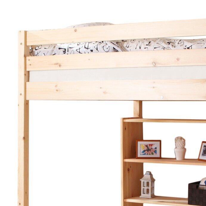 ticaa hochbett matthias 140 x 200 cm bewertungen. Black Bedroom Furniture Sets. Home Design Ideas