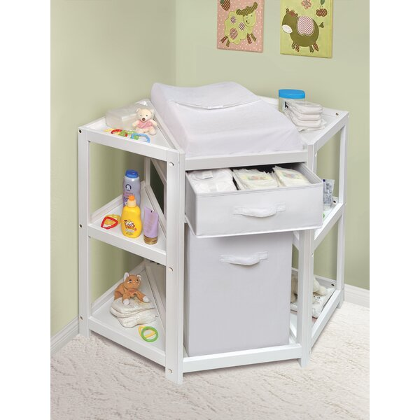 Badger Basket Diaper Corner Baby Changing Table Amp Reviews