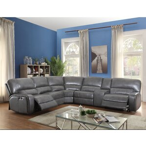 Saul Reclining Sectional  sc 1 st  Wayfair : brown reclining sectional - Sectionals, Sofas & Couches