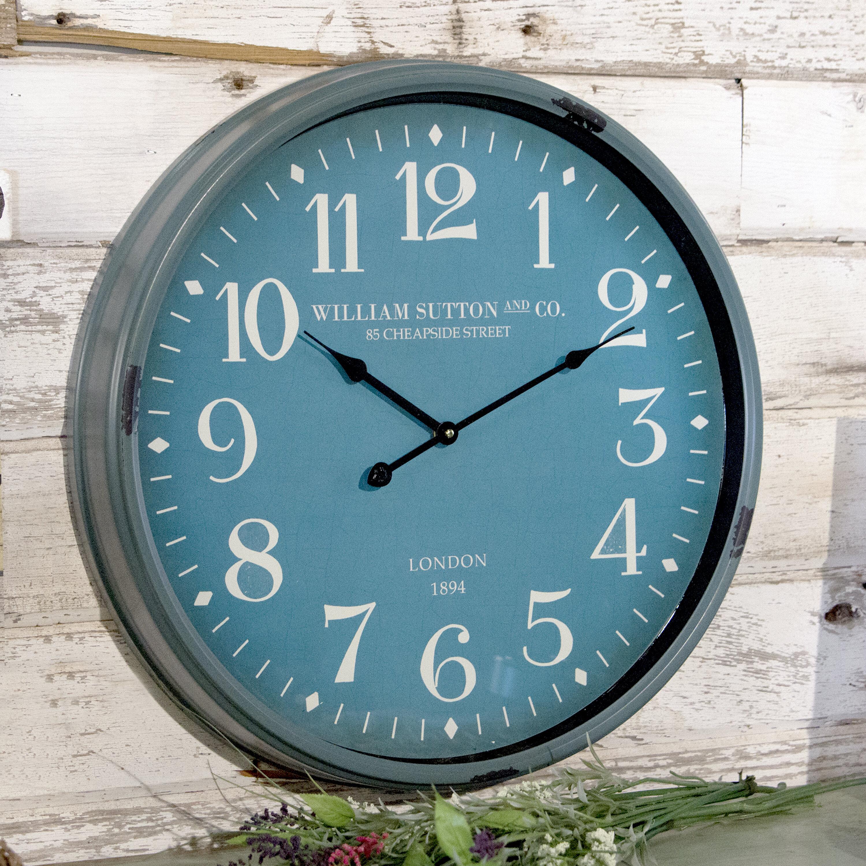 VIP INTERNATIONAL Katrin Wall Clock & Reviews   Wayfair