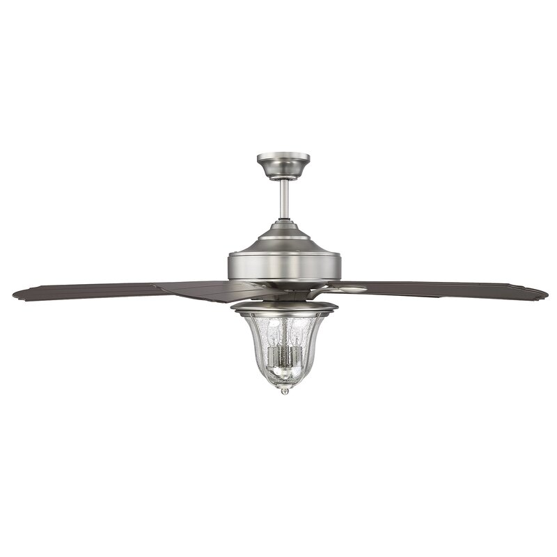 52 Timberlake 5 Blade Indoor Outdoor Ceiling Fan With Remote