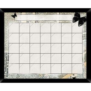 News Calendar/Planner Dry Erase Board