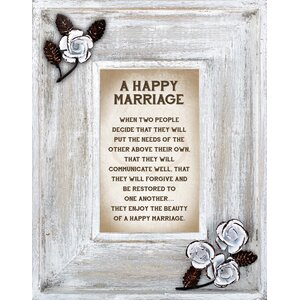 Marriage Picture Frame