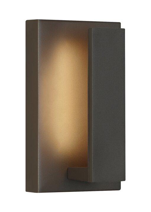 Orren Ellis Swann 1-Light Outdoor Wall Sconce   Wayfair