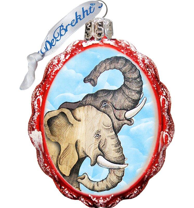 Elephant Shaped Ornament