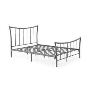 Paugh Metal Platform Bed by Varick Gallery