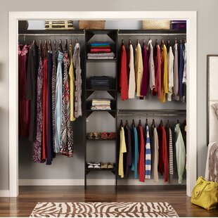 Suitesymphony 72 W 108 Closet System With Top Shelves