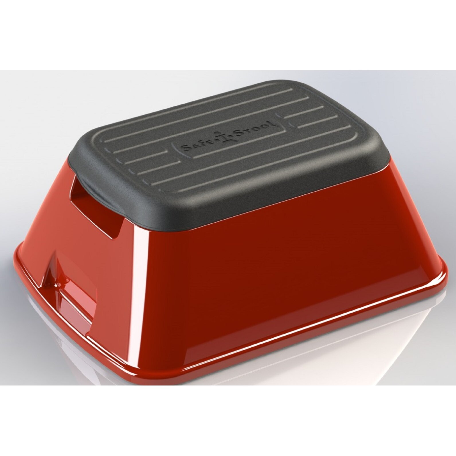 Ennovea Life 1 Step Plastic Anti Tip Safe T Step Stool