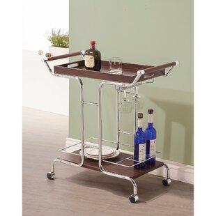 Wesneski Stylish Metal Bar Carts