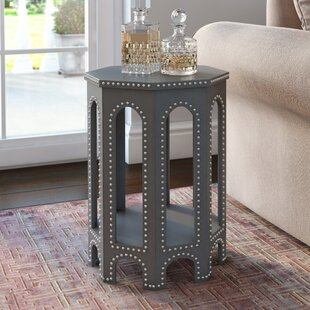 Leather/Faux Leather End U0026 Side Tables Youu0027ll Love