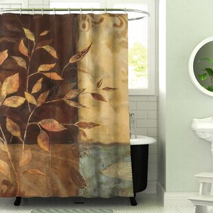 Amie Printed Single Shower Curtain