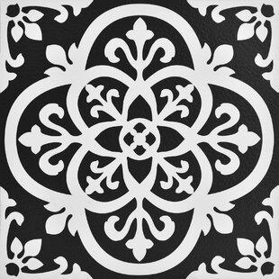 Gothic 12 X Vinyl Tile In Black