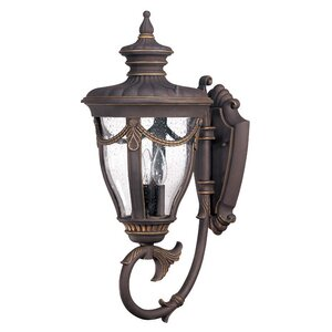 Philippe 3-Light Outdoor Sconce