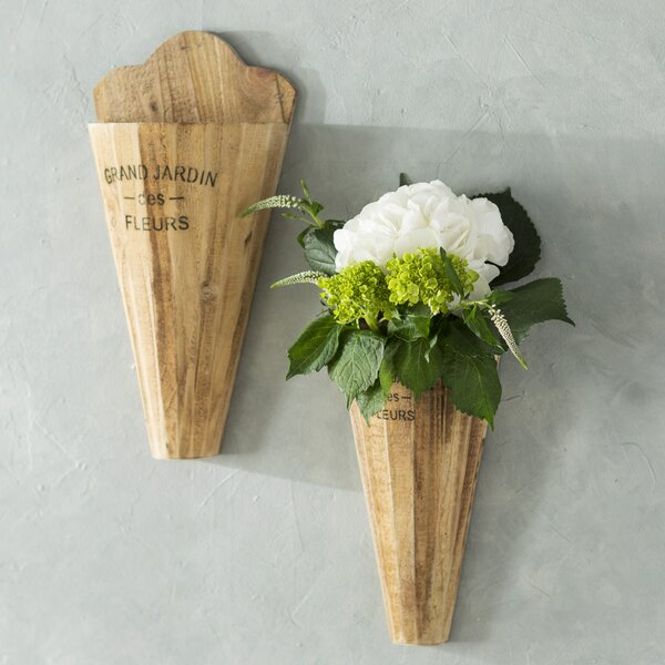 2 piece jardin wall vase set reviews joss main
