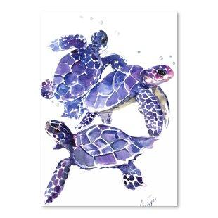 U0027Sea Turtlesu0027 Painting Print