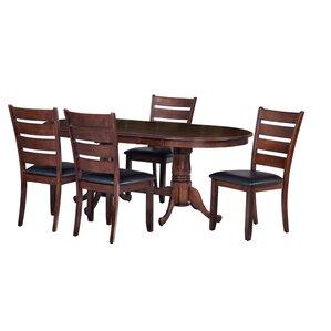Princeton 5 Piece Dining Set by TTP Furnish