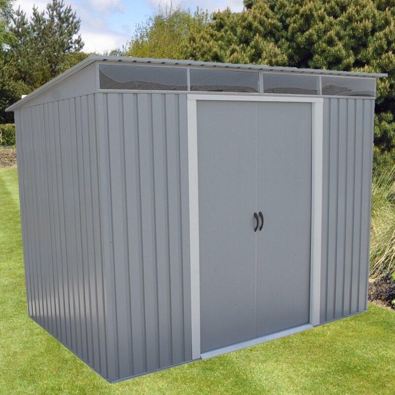 d metal stb 403 10x10 metal storage shed