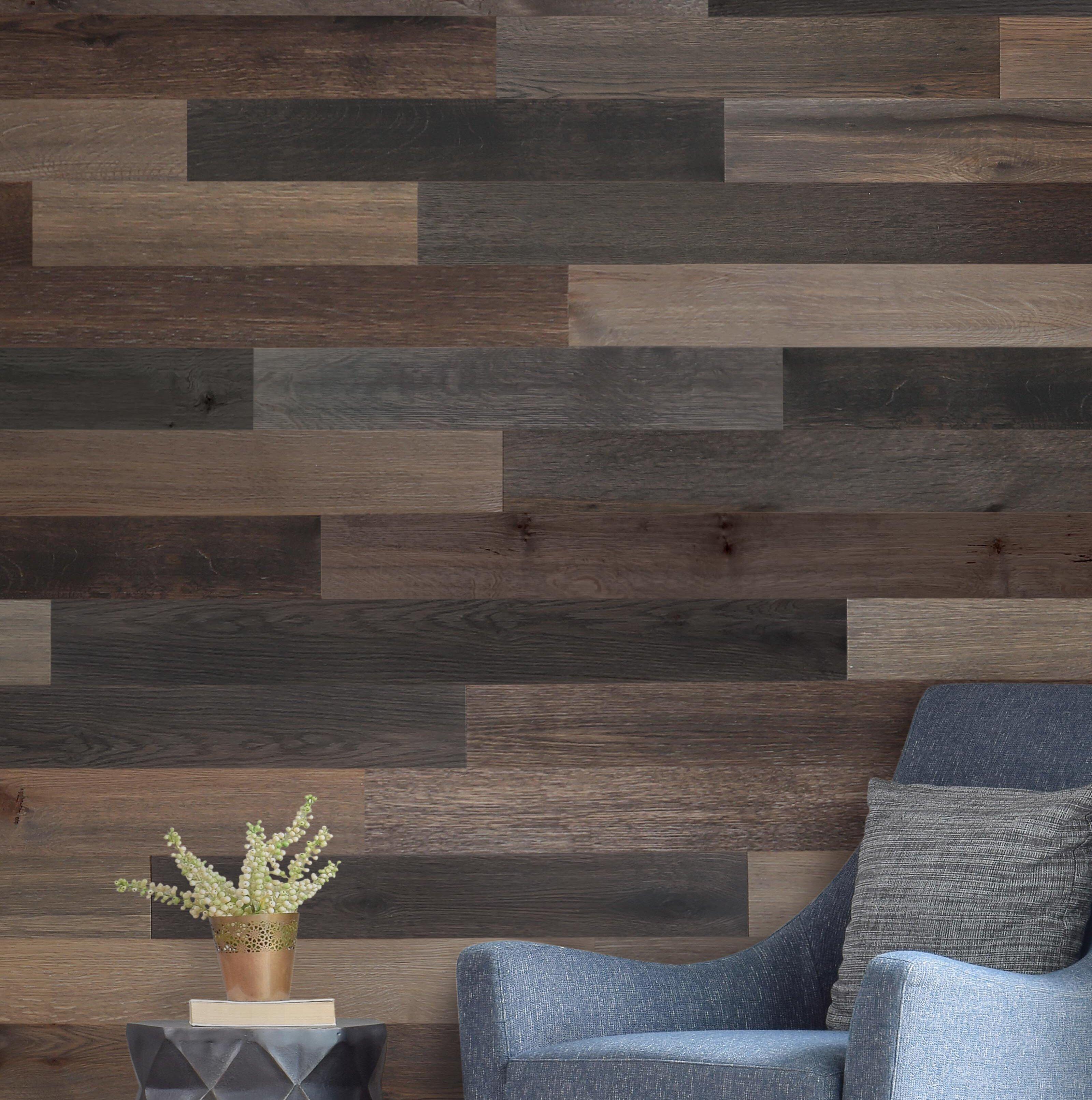 Wallplanks 5 1 engineered wood wall paneling in cobalt reviews wayfair