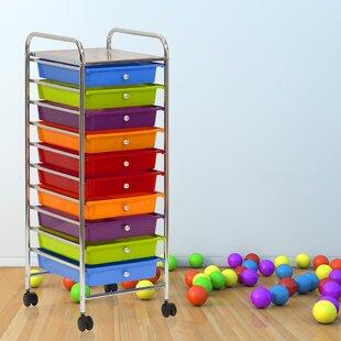 Save & 10 Drawer Storage Cart | Wayfair