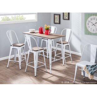 Claremont 5 Piece Counter Height Dining Set